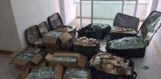 A investigação está relacionada aos R$ 51 milhões apreendidos pela Polícia Federal em malas e caixas em um apartamento pertencente a um amigo da família Vieira Lima, em Salvador - Divulgação/Polícia Federal