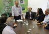 Assinatura do convênio para o Dourados Brilha foi na manhã desta quarta-feira, na Governadoria – Foto: Chico Ribeiro