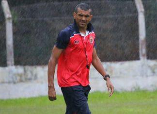 Márcio Santos comandou o time nos últimos jogos do Campeonato Brasileiro e foi mantido no cargo - Divulgação