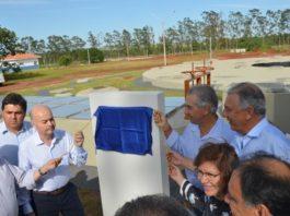 Inauguração de obras em Nova Andradina foi na manhã desta sexta-feira - Assessoria