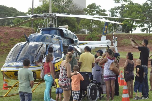 Evento contará com Helicóptero da PRF – Divulgação PRF