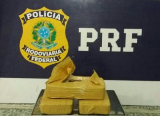 Droga seria levada para a cidade de Santa Inês/MA – Divulgação PRF