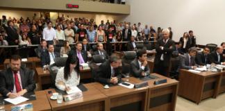Proposta que altera previdência e aumenta a contribuição dos servidores estaduais foi aprovada nesta quarta-feira - Foto: Victor Chileno