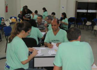 Professores e administrativos participaram da eleição do sindicato dos educadores de Dourados que também elegeu o Conselho Fiscal - Foto: SIMTED