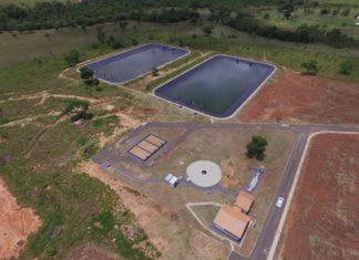Estação de Tratamento de Esgotos de Alcinópolis – Divulgação Sanesul