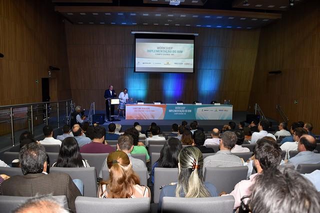 1º Workshop de Implementação do BIM foi realizado nesta quarta-feira no auditório da Escola Senai da Construção - Assessoria
