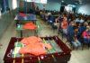 Foram entregues para o Cras Água Boa mesa de tênis, cama elástica e mesa de futebol de botão - Foto: A. Frota