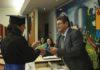 Prefeito Donato Lopes da Silva foi o Paraninfo da turma – Assessoria