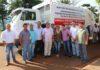 Prefeito Donato entregou na manhã desta sexta-feira, 10, um caminhão coletor/compactador de lixo da marca Volkswagen para ser usado na limpeza da cidade - Assessoria