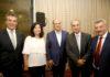 Prefeita Délia Razuk com os governadores dos Estados de São Paulo, Paraná e Mato Grosso do Sul - Foto: Jaelson Lucas/ANPr