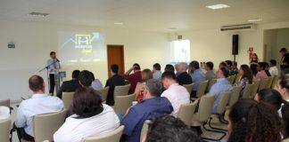 Sérgio Longen apresentou na noite de ontem no Espaço Empresarial do Novo Sesi, em Três Lagoas, as vantagens e importância de aderir ao Fadefe - Divulgação
