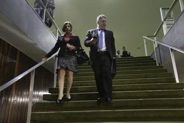 Os ex-governadores do Rio Rosinha e Anthony Garotinho - Fabio Rodrigues Pozzebom/Arquivo/Agência Brasil