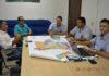 Comissão Especial de Avaliação da Planta Genérica de Valores de Itaquiraí durante reunião na Prefeitura - Foto: Guiomar Biondo