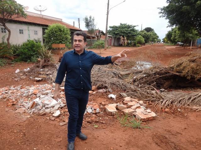 Marçal tem percorrido bairros da cidade para ouvir reivindicações dos moradores - Divulgação