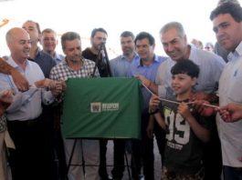 Governador durante entrega das chaves para 52 famílias que vão morar no conjunto Almesinda Costa Souza – Foto: Chico Ribeiro