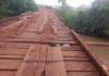 Ponte será reformada na região do Barro Preto entre Dourados e Douradina - Foto: Divulgação/Semop