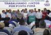 Governador esteve neste sábado em Ponta Porã, onde entregou obras – Foto: Chico Ribeiro