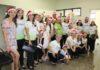 O grupo de canto Caravana do Evangelho, que esteve no HU-UFGD na manhã deste domingo (3) - Divulgação