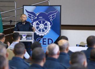 Tenente Coronel Carlos Silva, Comandante do 3º Batalhão de Polícia Militar, apresentou o esquema estratégico desenvolvido para o policiamento fim de ano – Assessoria PM