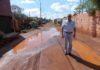 O vereador esteve visitando o local e constatou a necessidade de obras - Foto: Assessoria