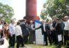Sérgio Longen, Presidente da Fiems, e governador Reinaldo Azambuja na inauguração da ISI Biomassa em Três Lagoas - Divulgação