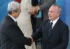 Presidente Michel Temer com Antônio Imbassahy, em cerimônia de posse no Palácio do Planalto – Foto: Antonio Cruz/Agência Brasil