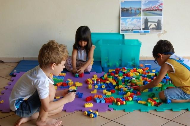 Lego será usado por todos os alunos da JE em 2018 - Assessoria