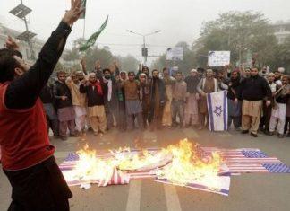 Decisão de Trump gerou uma série de protestos no Oriente Médio - Foto: EPA