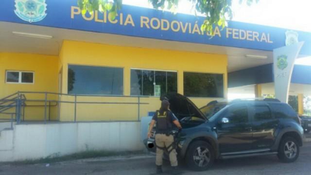 Renault/Duster foi recuperado em menos de 5 dias após o furto/roubo – Divulgação PRF