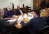 Governador Reinaldo Azambuja se encontrou na noite desta quarta-feira, 06, com o ministro da Casa Civil, Eliseu Padilha - Divulgação