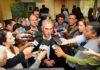 Governador Reinaldo Azambuja concedeu coletiva na manhã de hoje – Foto: Edemir Rodrigues