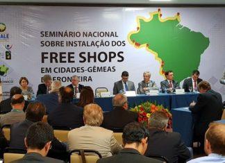 Seminário nacional sobre Free Shops foi realizado em Brasília - Assessoria