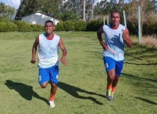 Kéverson e Peu trabalham para recuperar forma física - Foto: Divulgação/Sete