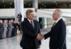 O presidente Michel Temer recebe o presidente da Macedônia, Gjorge Ivanov, no Palácio do Planalto - Foto: Antonio Cruz/Agência Brasil