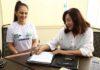 Convênio assinado na manhã desta segunda-feira facilita acesso de filhos de servidores da prefeitura na escola do Sesi – Foto: A. Frota