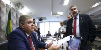 Parlamentares aprovam o relatório final da CPMI da JBS, apresentado pelo relator, deputado Carlos Marun – Foto: Marcelo Camargo/Agência Brasil