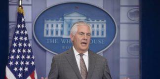 US Secretary of State Rex Tillerson - Foto: EPA