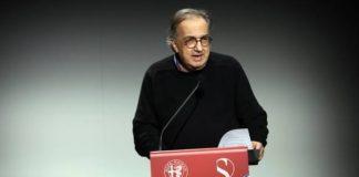 O presidente da Ferrari, Sergio Marchionne, fala na apresentação da parceria Alfa Romeo-Sauber - Foto: ANSA