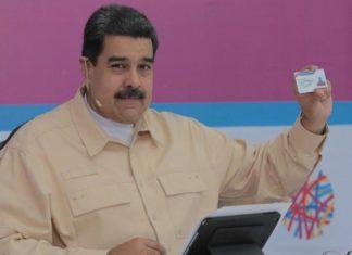 Maduro anunciou a criação da criptomoeda em seu programa semanal de televisão - Divulgação