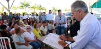 Reinaldo liberou mais R$ 33 milhões em obras para Três Lagoas, cujo montante de investimentos alcança quase meio bilhão – Foto: Chico Ribeiro