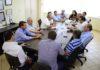 Reunião na manhã desta terça-feira contou com a presença de 12 vereadores, a prefeita e secretários - Foto: Luiz Radai/Assecom