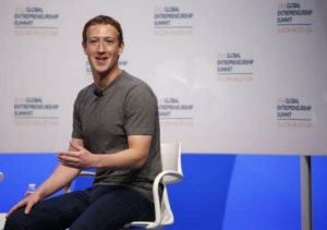 Mark Zuckerberg, CEO e cofundador do Facebook – Foto: EPA