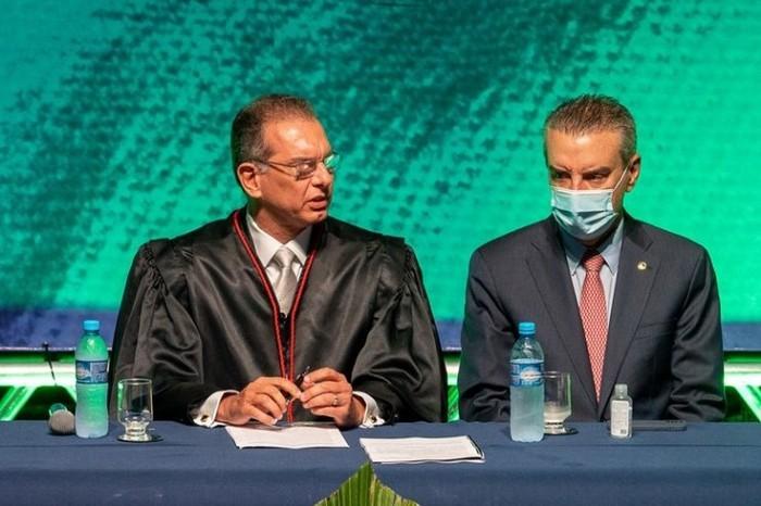 Paulo Corrêa ressalta integração institucional durante posse de presidente do TJMS | AgoraMS - O Endereço da Notícia#